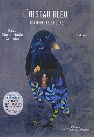 L'oiseau Bleu Aux Reflets De Lune