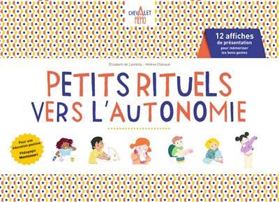 Chevalet Mémo ; Petits Rituels Vers L'autonomie