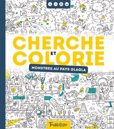 Cherchet Et Trouve A Colorier - Monstres Glagla