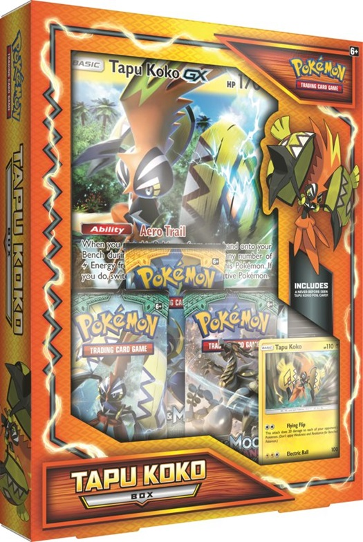 Pokemon - tapu koko box - kaarten en