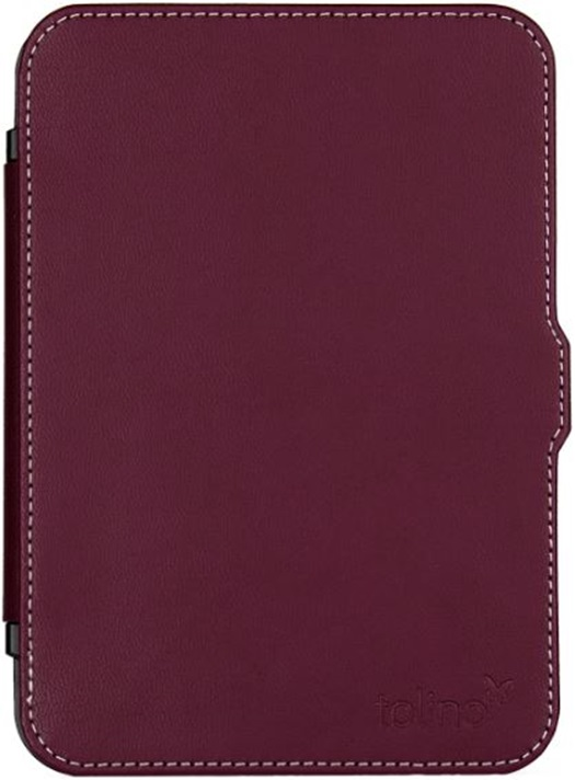 Etui ultra-fin rouge pour e-reader Shine 2 HD