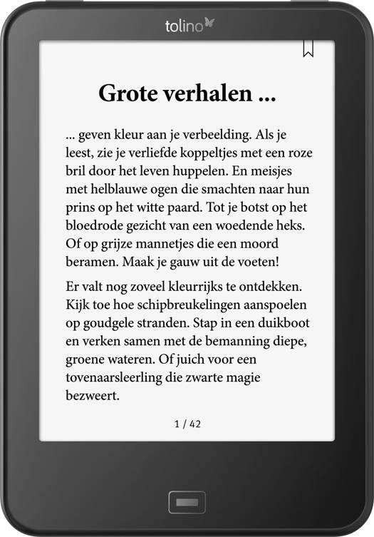tolino vision 4 HD e-reader | Standaard Boekhandel