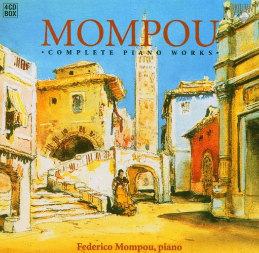 Complete piano works w/federico mompou on piano