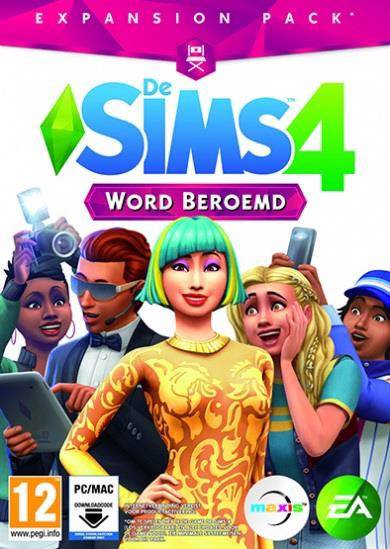 Sims 4 - Word beroemd (Code in a box)