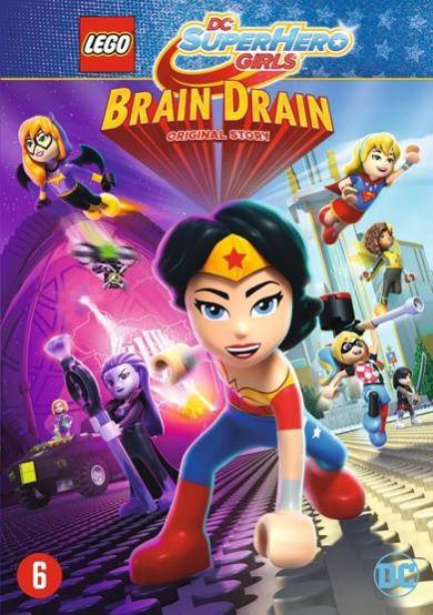 Lego DC super hero girls - Brain drain