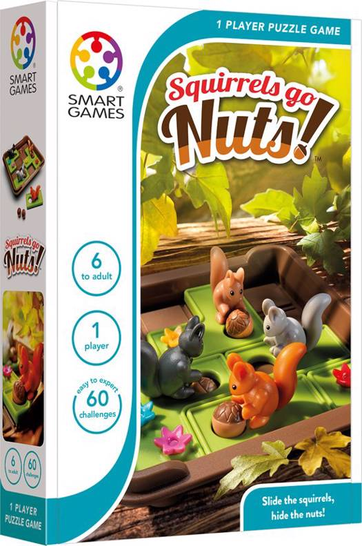 Smart games squirrels go nuts meertalig