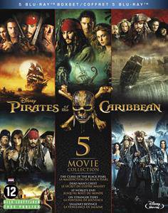 Pirates of the Caribbean collection 1-5