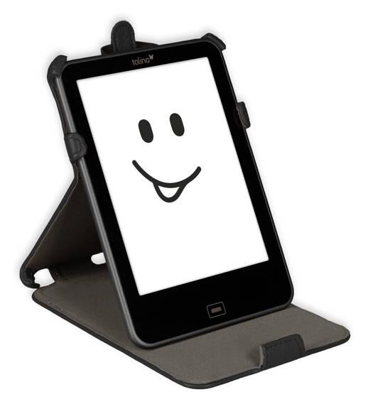 Etui support noir pour e-reader Vision 2