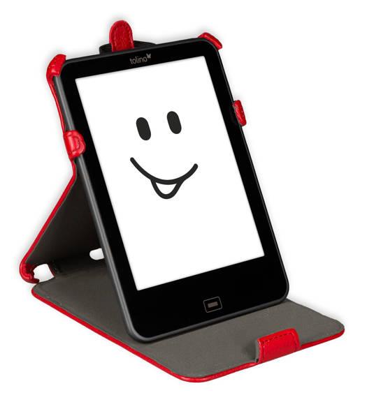 Etui support rouge pour e-reader Vision 2