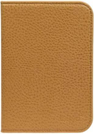 Etui luxe simili cuir brun pour e-reader Shine 2 HD