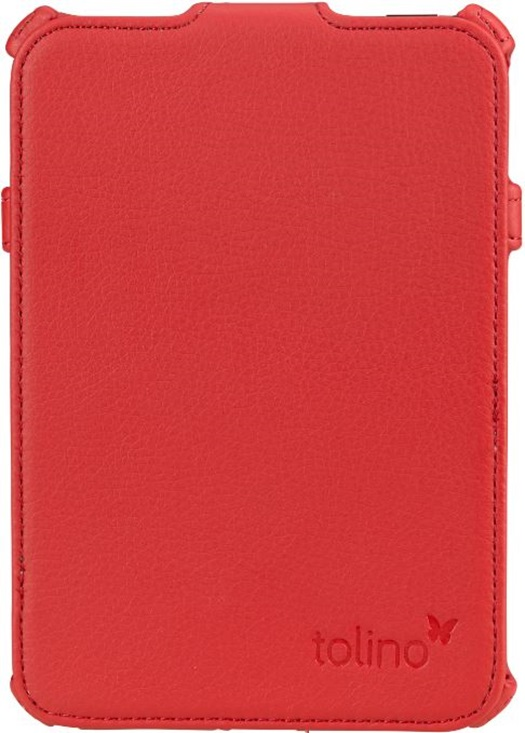 Etui support rouge pour e-reader Shine 2 HD