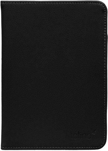 Etui cuir noir pour e-reader Shine 2 HD