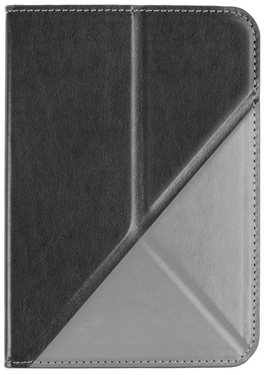 Etui origami noir-gris pour e-reader Vision 4 HD