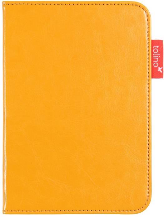 Etui luxe jaune pour e-reader Vision 4 HD