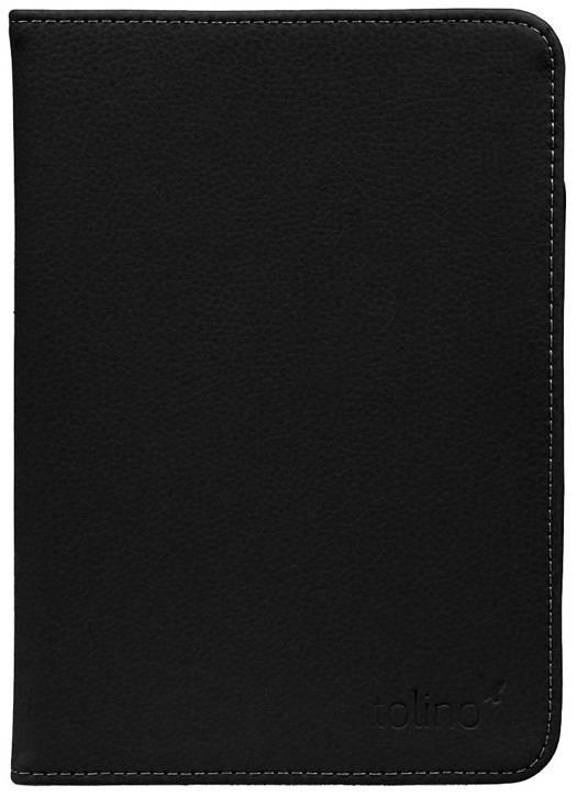Etui cuir noir pour e-reader Vision 4 HD