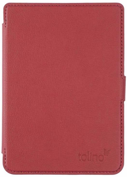 Tolino shine 3 slimfit cover red tolino logo