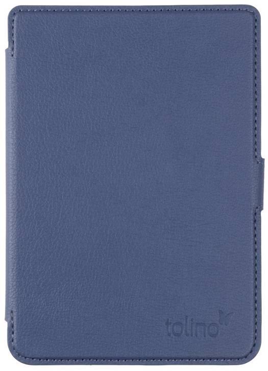 Tolino shine 3 slimfit cover blue tolino logo