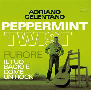 Peppermint twist/furore/ il tuo bacio e come un rock|3 orig. lp's + 24 singles