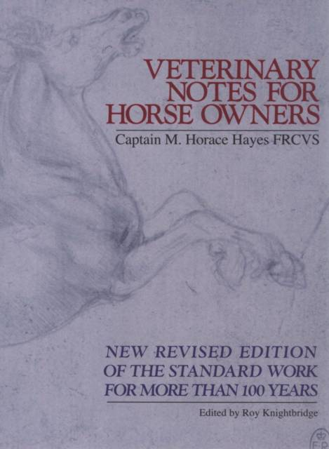 Veterinary Notes For Horse Owners