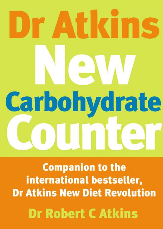 Dr Atkins New Carbohydrate Counter