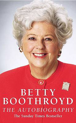 Betty Boothroyd Autobiography