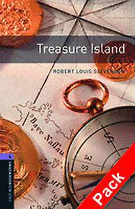 Oxford Bookworms Library: Level 4:: Treasure Island audio CD pack