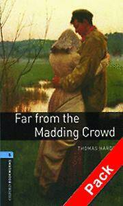 Oxford Bookworms Library: Level 5:: Far from the Madding Crowd audio CD pack