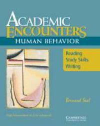 Academic Encounters: Human Behavior Student's Book