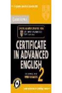Cambridge Certificate in Advanced English 2 for Updated Exam Self-study Pack