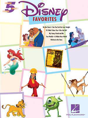 Disney Favourites Five Finger Piano