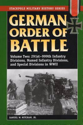German Order of Battle, Vol. 2