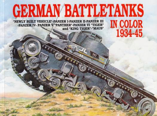 German Battle Tanks in Color
