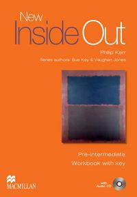 New Inside Out Pre-Intermediate Workbook Pack with Key
