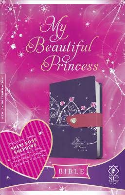 My Beautiful Princess Bible-NLT-Magnetic Closure