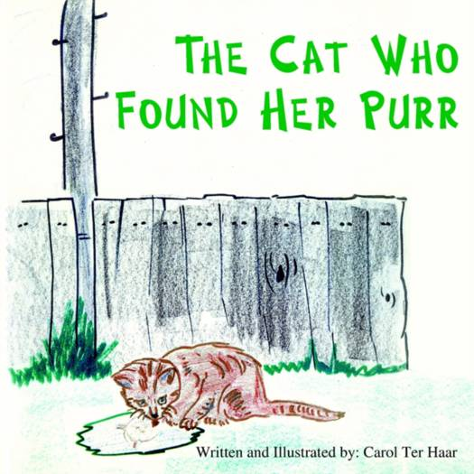 Cat Who Found Her Purr