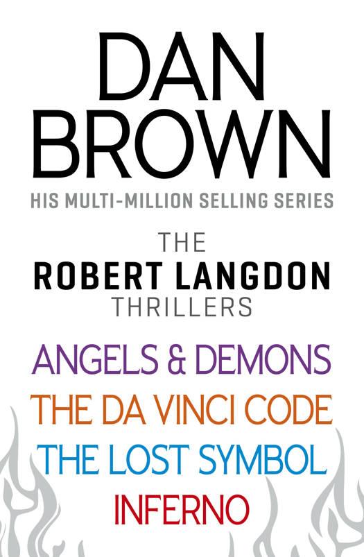 Dan Browns Robert Langdon Series Standaard Boekhandel