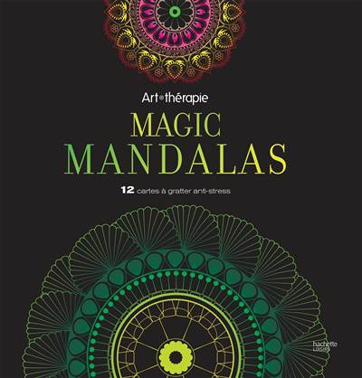 Cartes à Gratter Mandalas