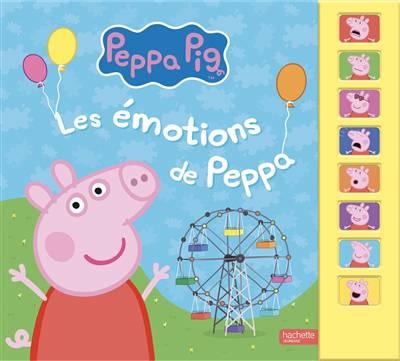 Peppa Pig ; Livre Son émotions