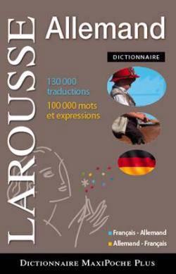 Maxi Poche Plus ; Français-allemand