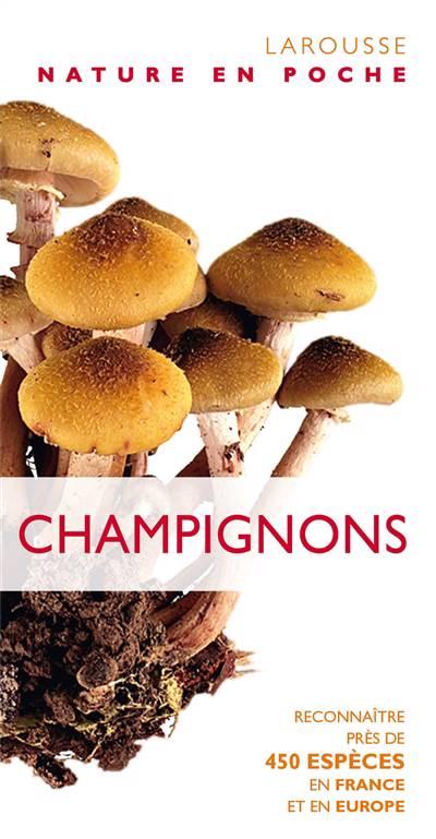 Champignons ; Reconnaître Près De 450 Espèces En France Et En Europe