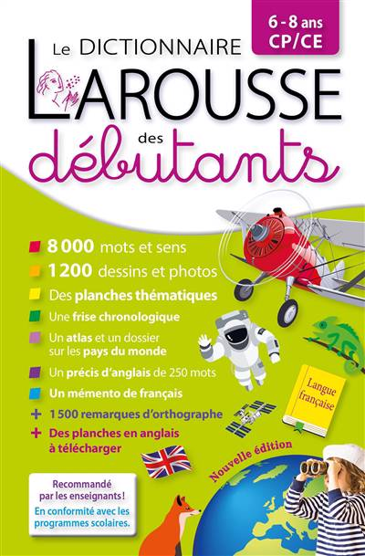 Larousse Dictionnaire Des Débutants Cp/ce