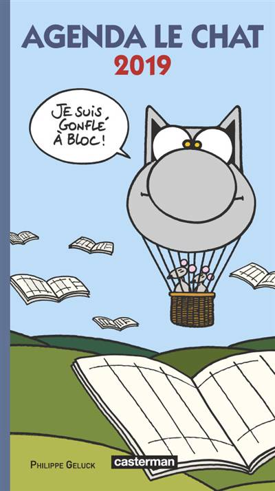 Mini-agenda Le Chat (édition 2019)