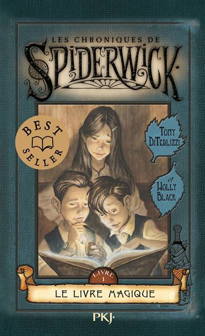 Les Chroniques De Spiderwick T.1 ; Le Livre Magique