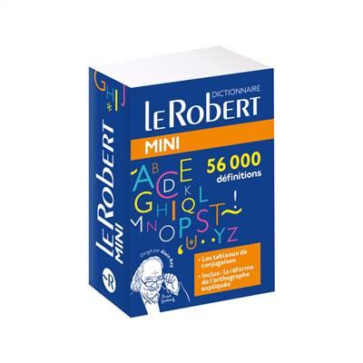 Dictionnaire Le Robert Mini De La Langue Française