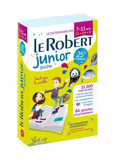 Dictionnaire Le Robert Junior ; 7/11 Ans ; Ce, Cm, 6e (édition 2018)