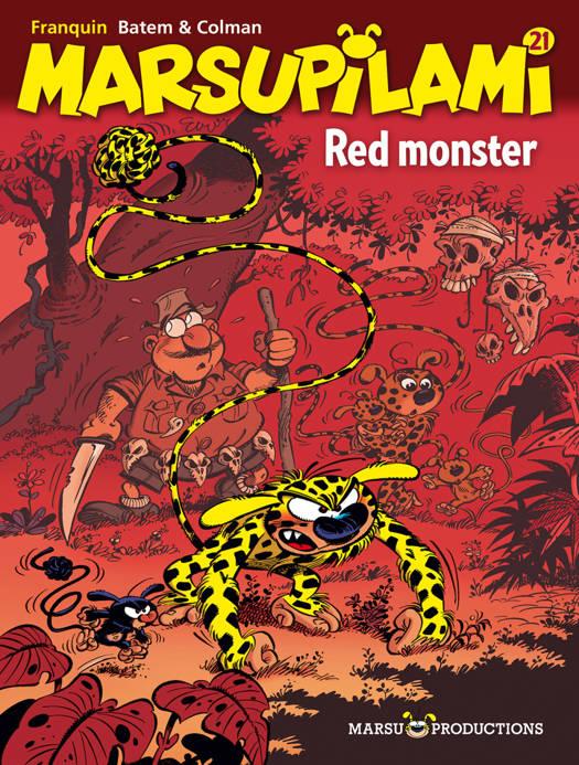 Marsupilami T21 Red Monster
