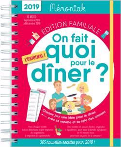 On Fait Quoi Pour Le Diner ? Memoniak 2018-2019