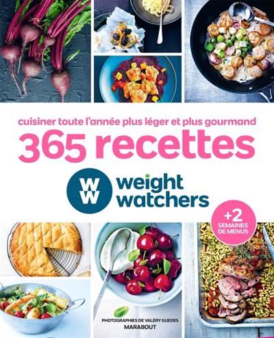 365 Recettes Weight Watchers Pour Cuisiner Toute L'année
