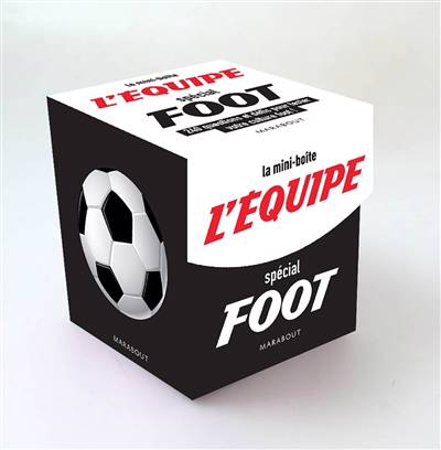 Mini Boîte L'équipe Spécial Foot