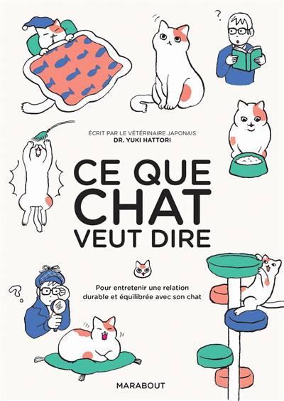 Ce Que Chat Veut Dire ; Pour Entretenir Une Relation Durable Et équilibrée Avec Son Chat
